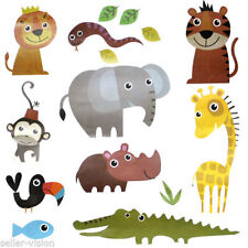 Children's Animal Print Wall Stickers