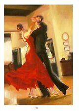 """CARRIE GRABER """"FLAIR"""" L/E S/N 16.5"""" x 24"""" Giclee Canvas w/COA List $1200"""