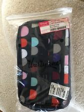 THIRTY ONE GLAMOUR MAKEUP CASE WITH HANDLE NEW IN PACKAGE-Gumdrop Spots