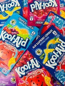Kool Aid Singles To Go Sachets 🇺🇸 YOU PICK 10 FLAVOURS 🌟 FREE UK POSTAGE🌟