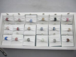 NEW- Sparkle Life   Bead -.925 Sterling Silver -Swarovski Crystals- Your choice