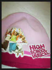 High School Musical Winter Pullover Hat pink with Photo on Cap junior and teen
