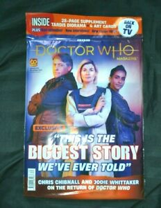 Doctor Who Magazine DWM Issue 570 December 2021 Series 13 Preview Back on TV!