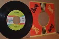 THE AVONS: ROLLING STONE & WORDS WRITTEN ON WATER; VG++ GIRL GROUP DOO WOP 45