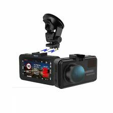 Car DVR Radar Detector GPS 3 in 1 170 Degree Angle Language Video Recorder