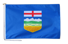 More details for alberta canada flag with rope and toggle - various sizes