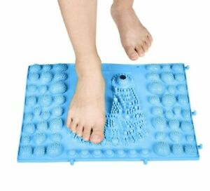 Foot Acupressure Mat Anti Slip Massage Pad Sole Pressure Relief Magnetic Therapy