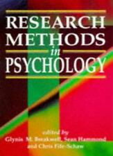 Research Methods in Psychology,Glynis Breakwell, Sean Martin Hammond, Chris Fif