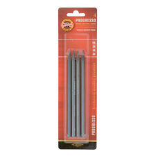 Koh-I-Noor Progresso Woodless Graphite Sticks in Grades HB - 6B