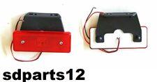 1 X Luce A Smd Led Ingombro 12v 12 Volt Posteriore Rosso Per Camper Furgone