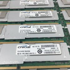 Crucial 60GB (15x4GB) Memory Ram CT51272AF667 512MX72 DDR2 PC2-5, 240 Pins