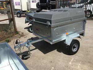 Erde 122  4 x 3 Camping Trailer With Lockable ABS Lid £749 2021