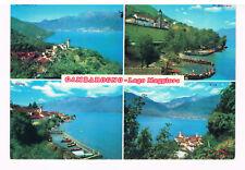 Gambarogno-Lago Macciore. 3 Ansichtskarten