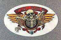 Powell Peralta Winged Ripper 40th Anniversary Skateboard Sticker 6.5in si