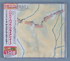 Harold Budd Brian Eno Ambient 2 The Plateaux Of Mirror Japan Promo CD w/ Obi