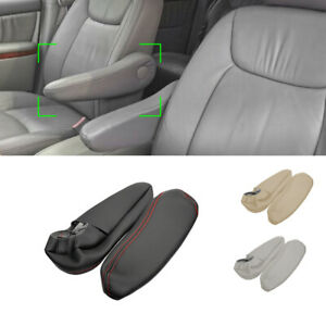 GRAY Leather Driver / Passenger Side Seat Armrest Handle Cover For Toyota Sienna