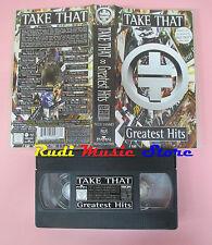VHS TAKE THAT Greatest hits 1996 95 MINUTI BMG 74321355683 cd lp dvd mc(VM6)