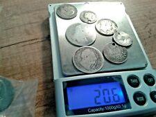 More details for pre 1920 scrap silver coins