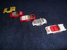 5 LOT MINT CARS MATCHBOX COKE COCA COLA YELLOW CORVETTE MUSTANG VW BEETLE  MG +