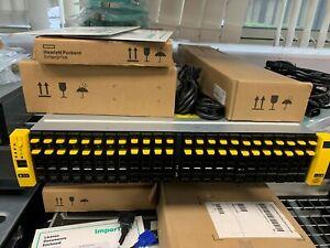 HPE 3par 8200 SSD SAN 16 x 3.84SSD Drives 100TB  RRP £328k NOW 87% OFF!!!