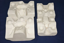 Vtg Ceramic Pottery Slip Casting Mold - Holland 2 Piece Buck Deer with Antlers