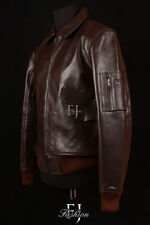 Cappotti e giacche da uomo marrone con colletto taglia L