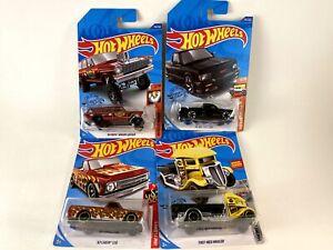 Bonus Hot Wheels Treasure Hunt & Trucks, Chevy C10, '91 GMC Syclone, '64 Nova...