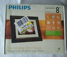 "Philips DIGITAL PHOTO FRAME 8"" Never Used Brand New In Box!"