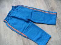 SIGIKID schöne dickere Jerseyhose blau Dino Gr. 86 NEUw. ST817