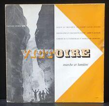 25 cm 10 ' Victoire P.Kaelin Abbé David Julien Cathédrale de Fribourg LP & CV EX