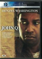 DVD JOHN Q. DENZEL WASHINGTON USED