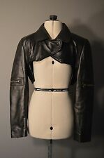 Ghost In the Shell style bolero jacket - 100% genuine leather