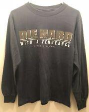 "New listing True Vintage ""Die Hard With A Vengeance� Movie Film Crew Long Sleeve Tshirt-"