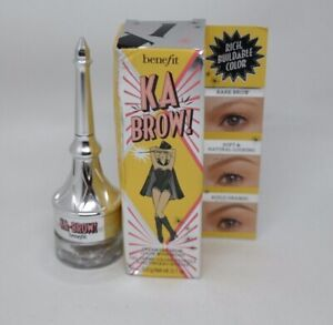 Benefit KA BROW Cream Gel Brow Color with Brush SHADE: #1 ~ .10 oz SEE DETAILS
