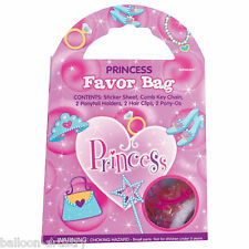 Pink Princess Party Pre-Filled Favour Loot Bag toys