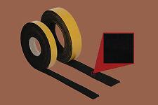 10 m Filzband, selbstklebender Filz, 20 mm br. 6 mm stark, schwarz, Filzstreifen