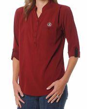 Florida State Seminoles Women's Button Down Tunic Top, Large, Garnet - NEW!