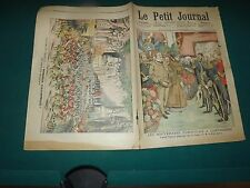 LE PETIT JOURNAL 1904 N°732 les souverains portugais , théatre du chatelet S175