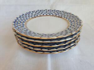 Lomonosov Kobaltnetz Dessertteller 15,5 cm