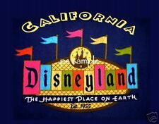 California - DISNEYLAND - Travel Souvenir Magnet
