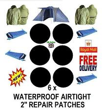 WATERPROOF Repair Patches for Jackets, Sleeping Bags, Tents, Inflatable  Items