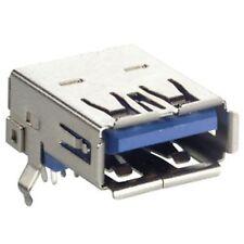 1 * USB 3.0 A 90° pcb connector 90 degree PCB thru hole USB3 USB 3