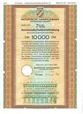Bayerische  Handelsbank  10000DM  München 1985