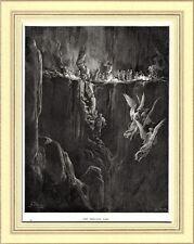 PURGATORIO: LUSSURIOSI E SODOMITI. Gustave Doré. Dante. Divina Commedia. 1890