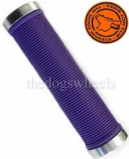 SERRATURA RSP su Manubrio Grip Mountain Bike MTB BICICLETTA CICLO Viola Lock-On