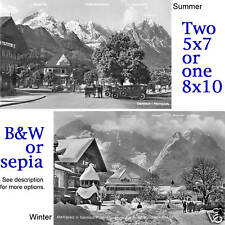 Germany Garmisch Partenkirchen Zugspitze Olympics 1930s Bavaria photos CHOICES