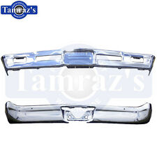1966 66 Chevelle & Malibu Front & Rear Bumper Kit Triple Chrome New