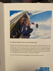 Jochen Schweizer Fallschirmsprung Erlebnisgutschein gültig bis 31.12.2023