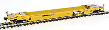 Walthers Proto HO Scale Gunderson Rebuilt 40' Well Car Trailer-Train DTTX #59547