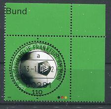 Bund Mi-Nr 2091  Ecke 2 (110) -100 J.Dt.Fussballbund-  EST Frankfurt/M 2000